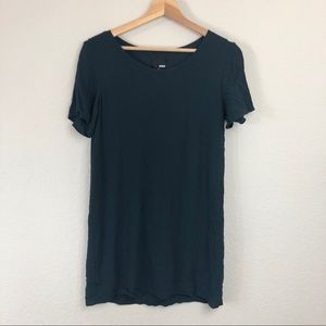 Aritzia Wilfred Free Green Shift Dress sz S
